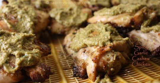 Spicy Garlic Cashew Chicken | TastingSpoons