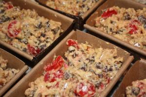 bishops bread in pans
