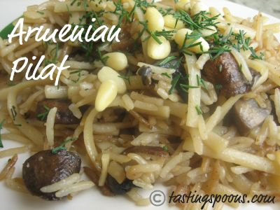 armenian rice and noodle pilaf