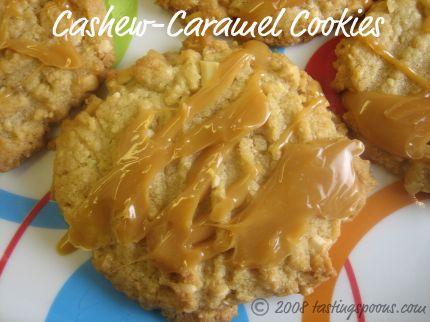 Martha Stewart's Cashew-Caramel Cookies