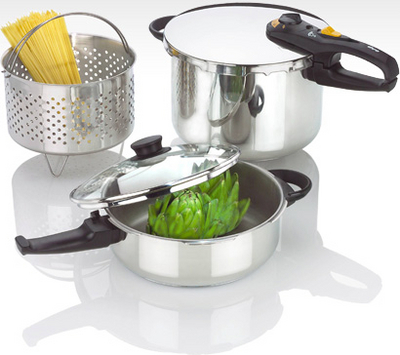 fagor pressure cooker duo combi set