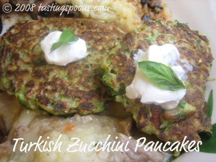 Turkish Zucchini Pancakes