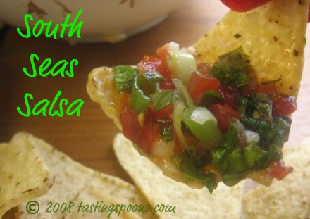 south seas salsa with an Asian twist