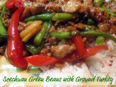 Schezwan green beans recipe