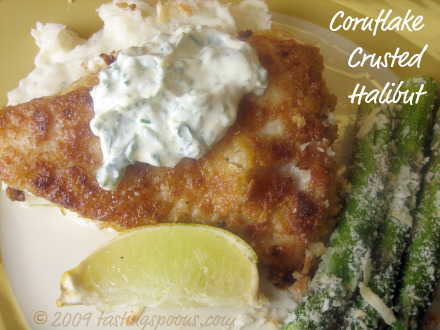 cornflake-crusted-halibut