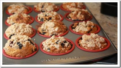 blueberry pumpkin muffin dozen