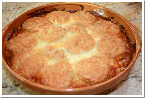 Beef and Biscuit Casserole | B & M Beans
