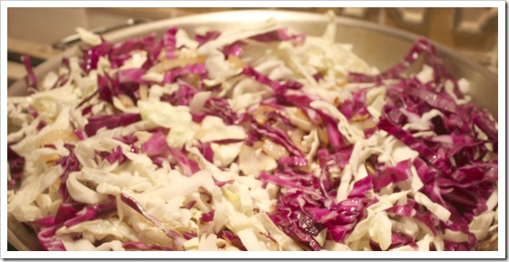cabbage cooking