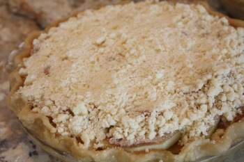 apple pie crumb topping