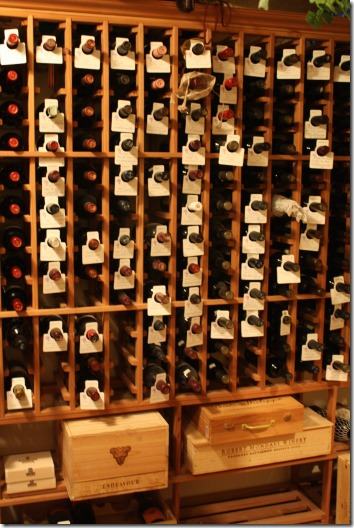 wine cellar racks