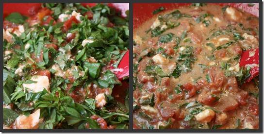 pasta tom cr sauce mix collage