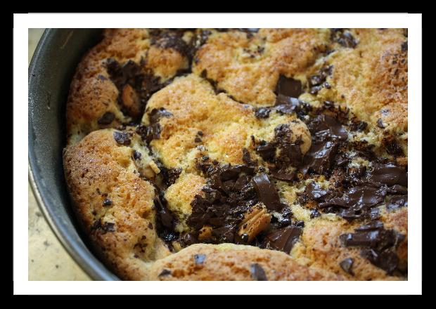 Bittersweet Chocolate Pear Cake | TastingSpoons