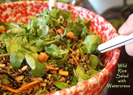 Wild Rice Salad with Watercress | TastingSpoons