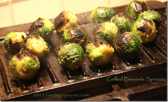 Grilled Brussels Sprouts | TastingSpoons