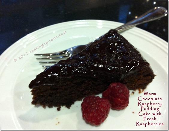Chocolate Raspberry Pudding Cake Nigella Lawson