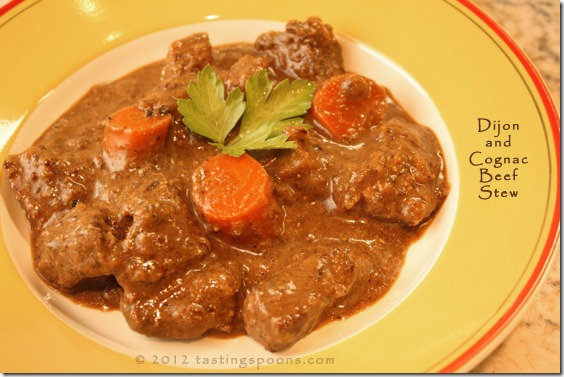Dijon And Cognac Beef Stew Recipe — Dishmaps