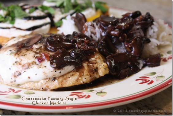 chicken madeira recipe cheesecake factory