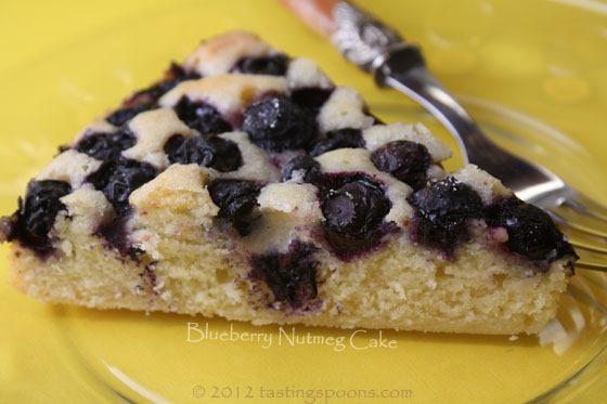 Blueberry Nutmeg Cake | TastingSpoons