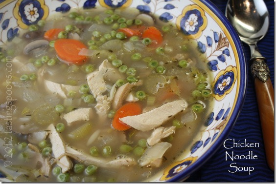 Chicken Noodle Soup With Orzo Tastingspoons