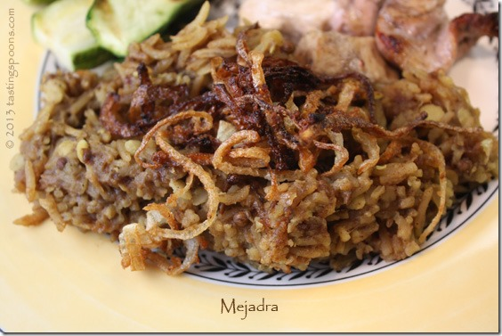 Mejadra From 'Jerusalem' Recipes — Dishmaps