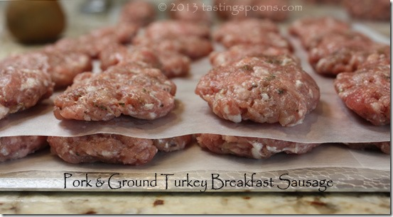 Pork and beef breakfast sausage recipe