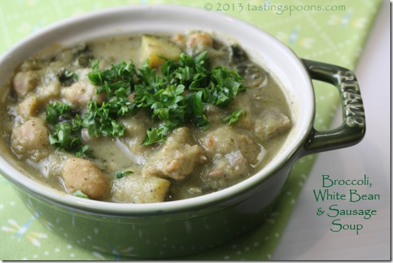 broccoli_white_bean_sausage_soup