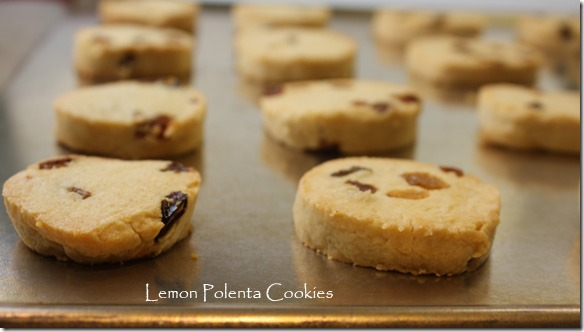 Lemon Polenta Cookies with Golden Raisins Recipe | TastingSpoons