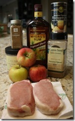 pork_chops_apple_rum_ingredients