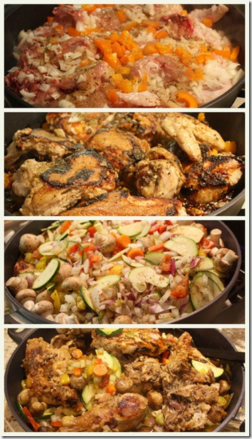 chicken supreme_collage
