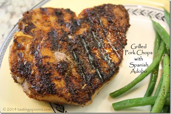 ... pork chops september grilled pork chops with spice grilled giant pork