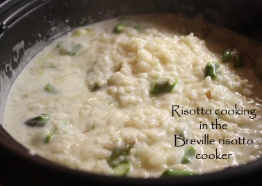how to make risotto with regular rice