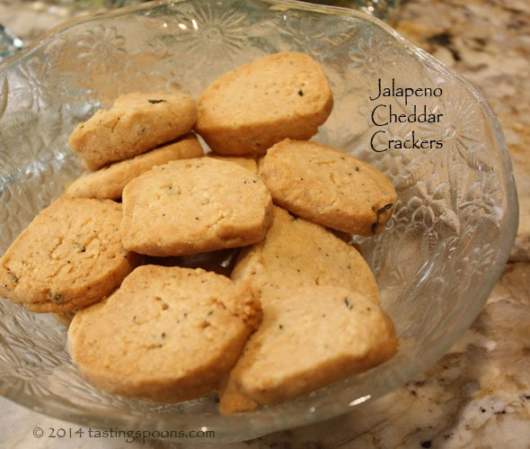 Jalapeno Cheddar Crackers | TastingSpoons