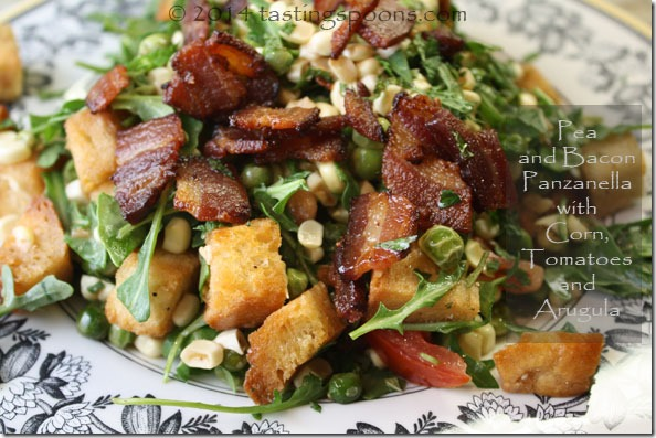... salad or panzanella which means bread salad in italian and add bacon