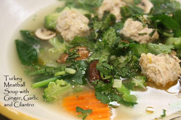 ginger_basil_turkey_meatball_soup