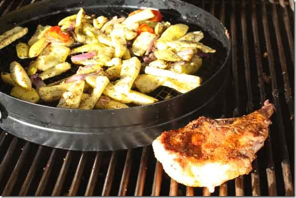 grilling_veggies_pork_chop