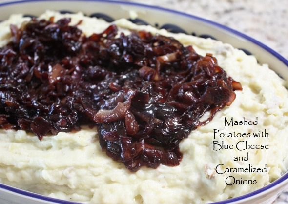 Mashed 'Potatoes' With Caramelized Onions Recipe — Dishmaps
