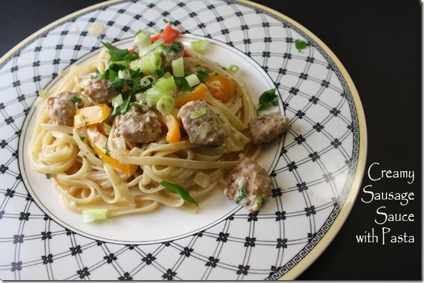 creamy_sausage_sauce_pasta