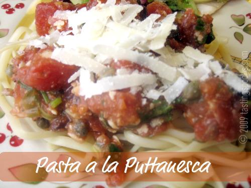 pasta-puttanesca
