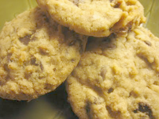blue chip choc chip cookie
