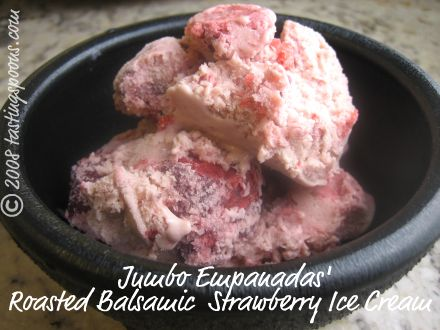 roasted balsamic strawberry ice cream