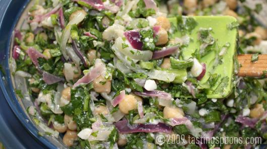 garbanzo-feta-salad