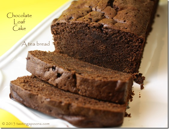 Chocolate Loaf Cake Or Chocolate Tea Bread Tastingspoons