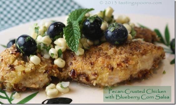 pecan_crusted_chix_blueberry_corn_salsa