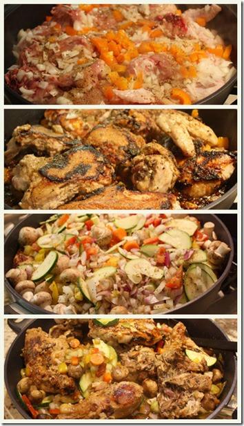 chicken supreme_collage