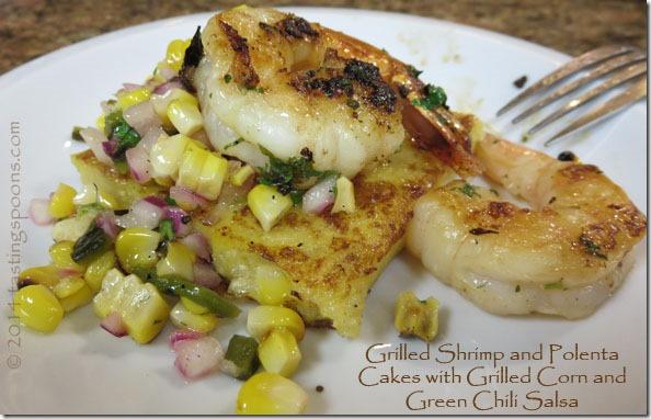 grilled_shrimp_polenta_cakes_corn_salsa