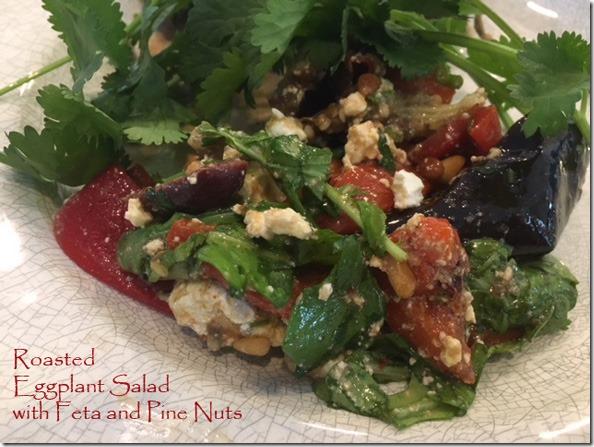 roasted_eggplant_salad_feta_pinenuts