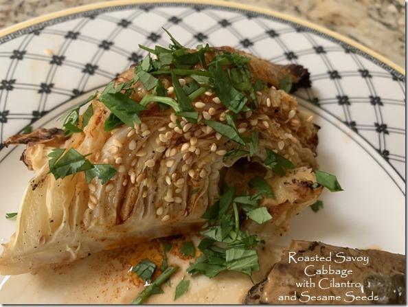 roasted_savoy_cabbage_cilantro_sesame